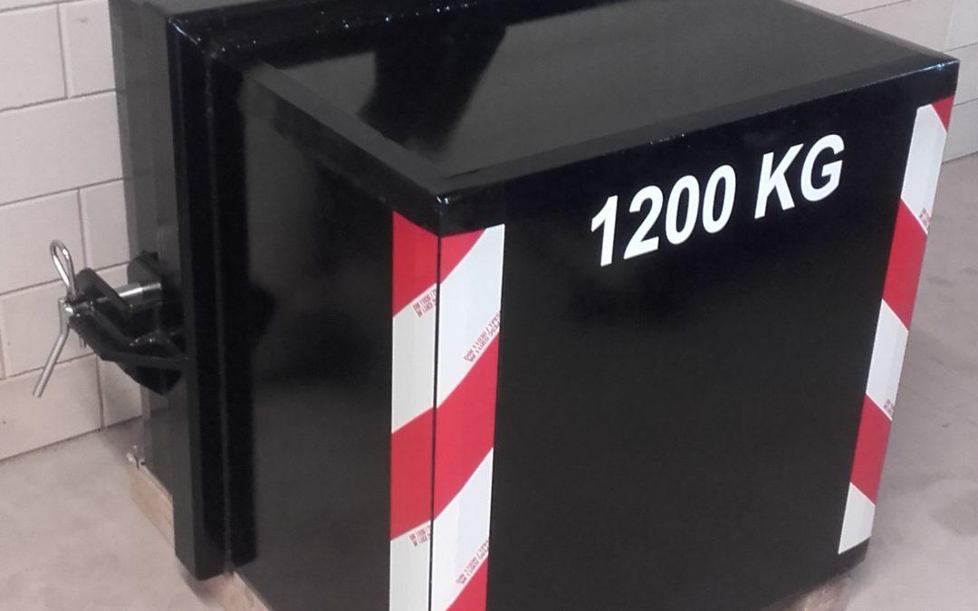 Frontgewicht 1200 kg